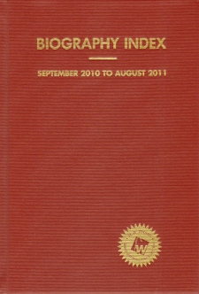 Essay and general literature index h w wilson